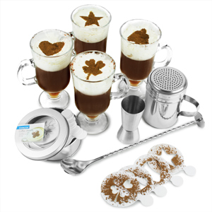 Irish Coffee Serving Set
