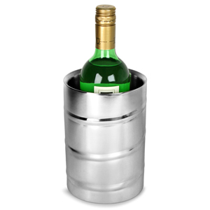Stainless Steel Double Walled Wave Wine Cooler