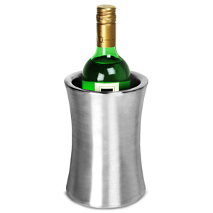 Stainless Steel Double Walled Vase Wine Cooler