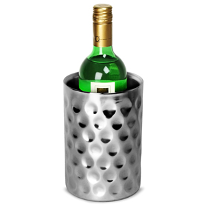 Double Walled Hammered Dimple Effect Wine Cooler