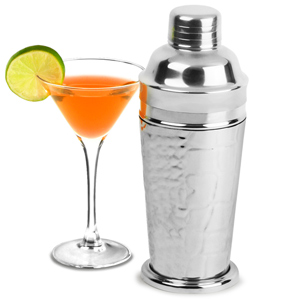 Deluxe Stainless Steel Crocodile Cocktail Shaker