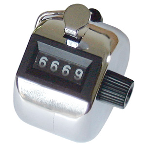 Hand Tally Counter 4 Digit