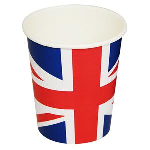 Union Jack Paper Cups 8.8oz / 250ml