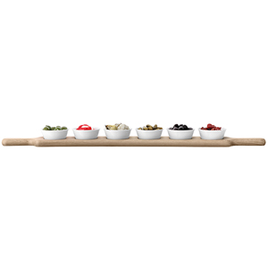 LSA Paddle Long Bowl Set & Oak Paddle