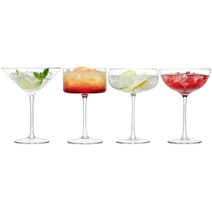 LSA Lulu Champagne & Cocktail Glass Set