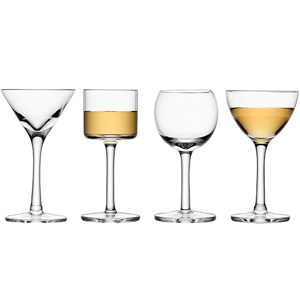 Image of LSA Lulu Liqueur Glass Set (Pack of 4 Assorted)