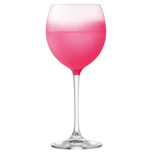 LSA Haze Wine Glasses Cranberry 14oz / 400ml