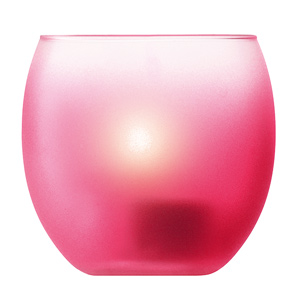 LSA Haze Tealight Holders Cranberry