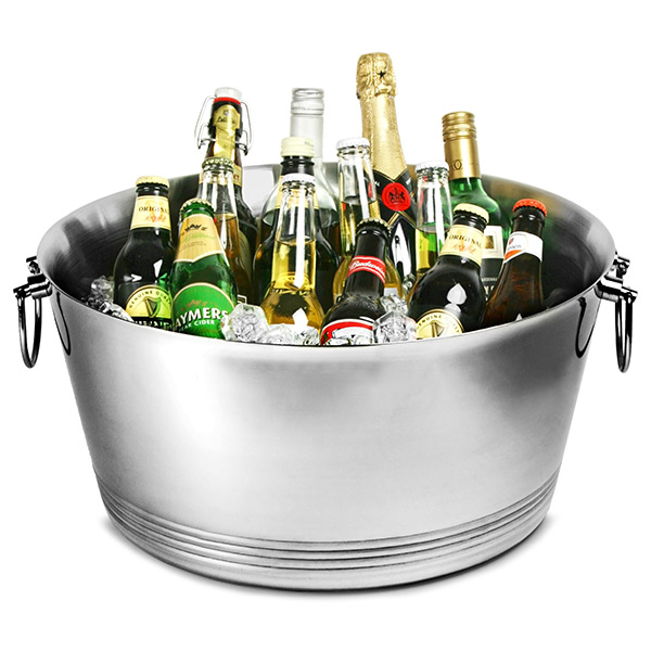Double Walled Stainless Steel Party Tub Drinkstuff