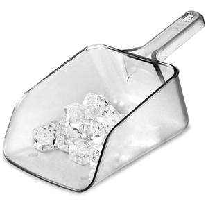 Plastic Ice Scoop Clear 64oz