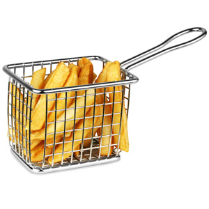 Mini Fryer Serving Basket 10 x 7.5cm