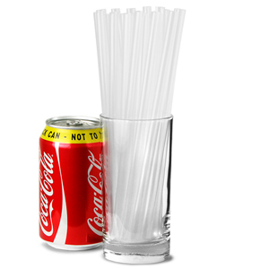 Super Jumbo Straws 8inch Clear