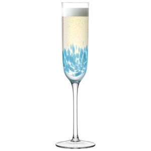 LSA Chalk Champagne Flutes Sky 6oz / 170ml