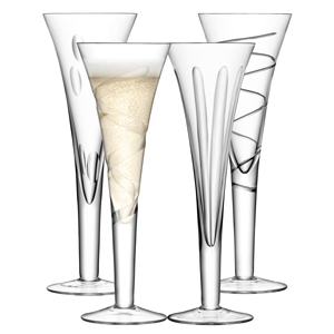 LSA Charleston Champagne Flutes 8.8oz / 250ml