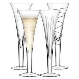LSA Charleston Champagne Flutes 8.8oz / 250ml