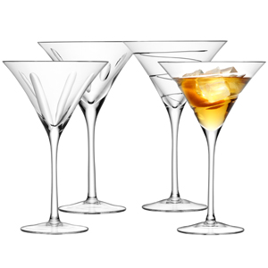 LSA Charleston Cocktail Glasses 8.8oz / 250ml