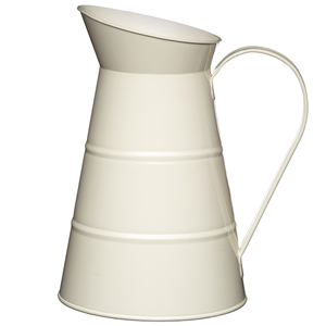 Living Nostalgia Water Jug Antique Cream 81oz / 2.3ltr