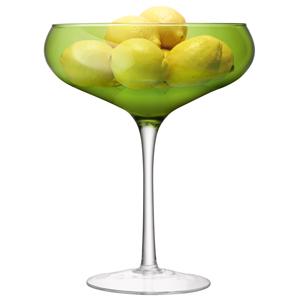 LSA Midi Champagne Saucer Lime 105.5oz / 3ltr