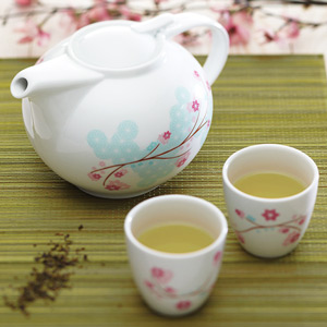 World of Flavours Oriental Tea Set