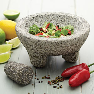 World of Flavours Mexican Granite Mortar & Pestle