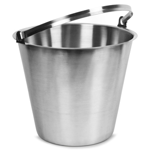 Stainless Steel Bucket 12ltr