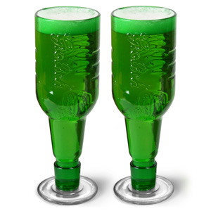 Grolsch Beer Bottle Goblets 14oz / 400ml