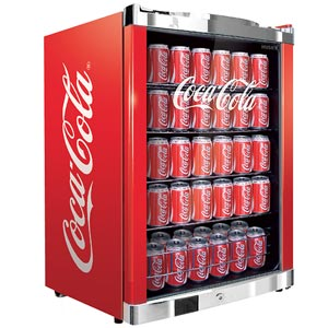 Coca Cola Undercounter Fridge
