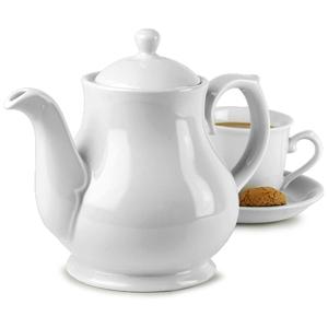 Churchill White Sandringham Coffee / Tea Pot PS30 30oz / 85.2cl