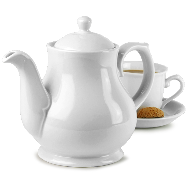 Churchill White Sandringham Coffee Tea Pot Ps30 30oz