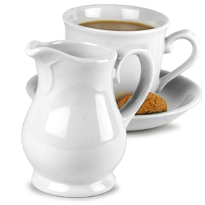 Churchill White Sandringham Jug / Creamer JS25 14cl
