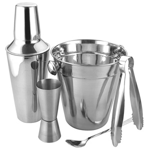 Apollo Stainless Steel Cocktail Gift Set