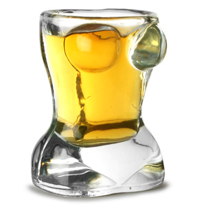 Sexy Torso Shot Glass 0.7oz / 20ml