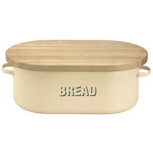 Vintage Cream Bread Bin