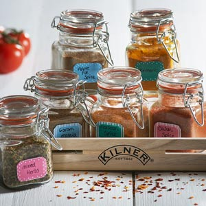 Kilner 20 Piece Spice Jar Gift Set