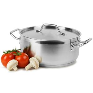 Genware Casserole Pot & Lid 8ltr