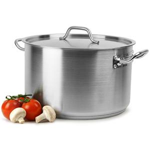 Genware Casserole Pot & Lid 22ltr