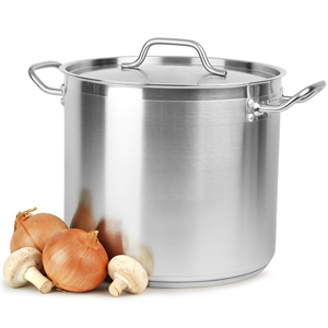 Stainless Steel Stockpot & Lid 16ltr