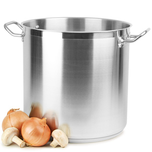Stainless Steel Stockpot 18ltr