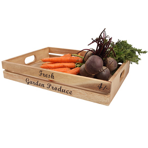 Baroque Storage Crate for Fresh Garden Produce