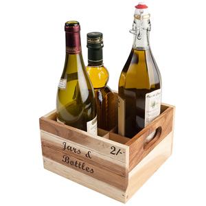 Baroque Bottle Crate for Jars & Bottles