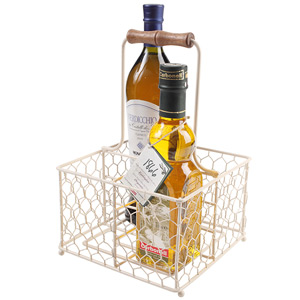 Provence 4 Bottle Holder Cream
