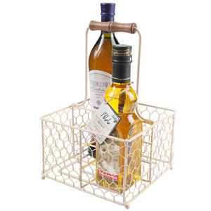 Provence 4 Bottle Holder Cream