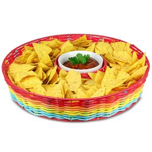 Del Sol Chip & Dip Basket