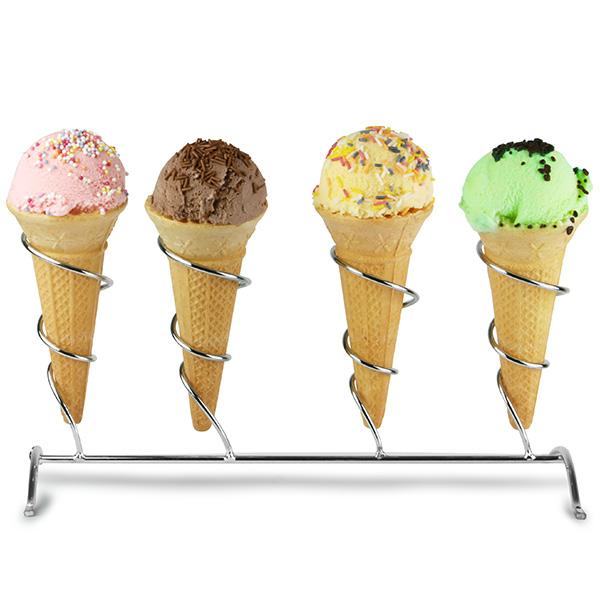Retro Ice Cream Cone Holder Drinkstuff