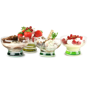 LSA Coro Leaf Dessert Dishes 8.8oz / 250ml