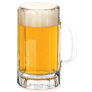 Paneled Beer Mugs 22oz / 650ml
