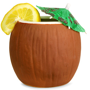 Ceramic Coconut Mug 21oz / 600ml