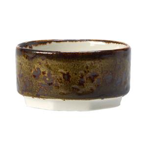 "Steelite Craft Taster Dip Pot Brown 2.5"" / 6.5cm"
