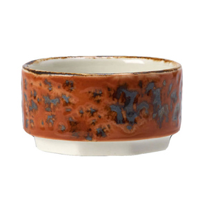 "Steelite Craft Taster Dip Pot Terracotta 2.5"" / 6.5cm"