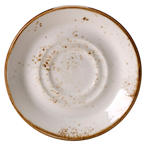 Steelite Craft Double Well Saucer White 14.5cm